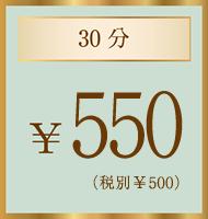 30分¥500