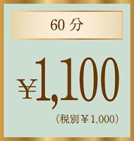 60分¥1,000
